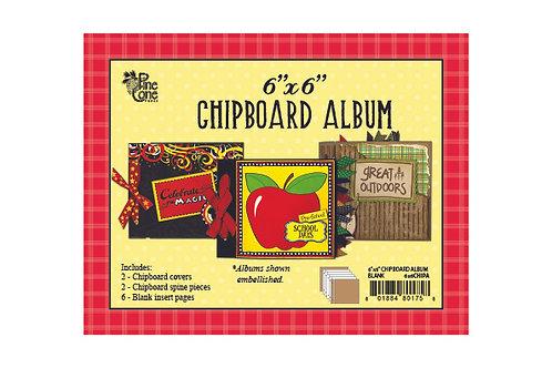 6x6 Blank Chipboard Album