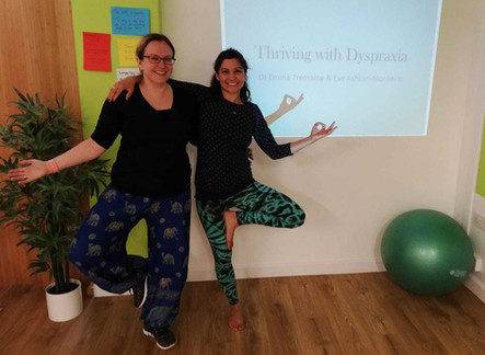 Triving with Dyspraxia Weekend with Eve Ashton-Monteiro from the Yoga Physios