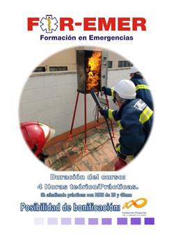 Curso extinción incendios