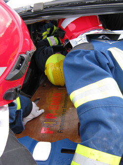 Prácticas rescate vehicular
