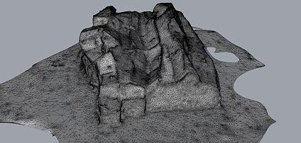 Water Runoff Massing Digital Mesh_