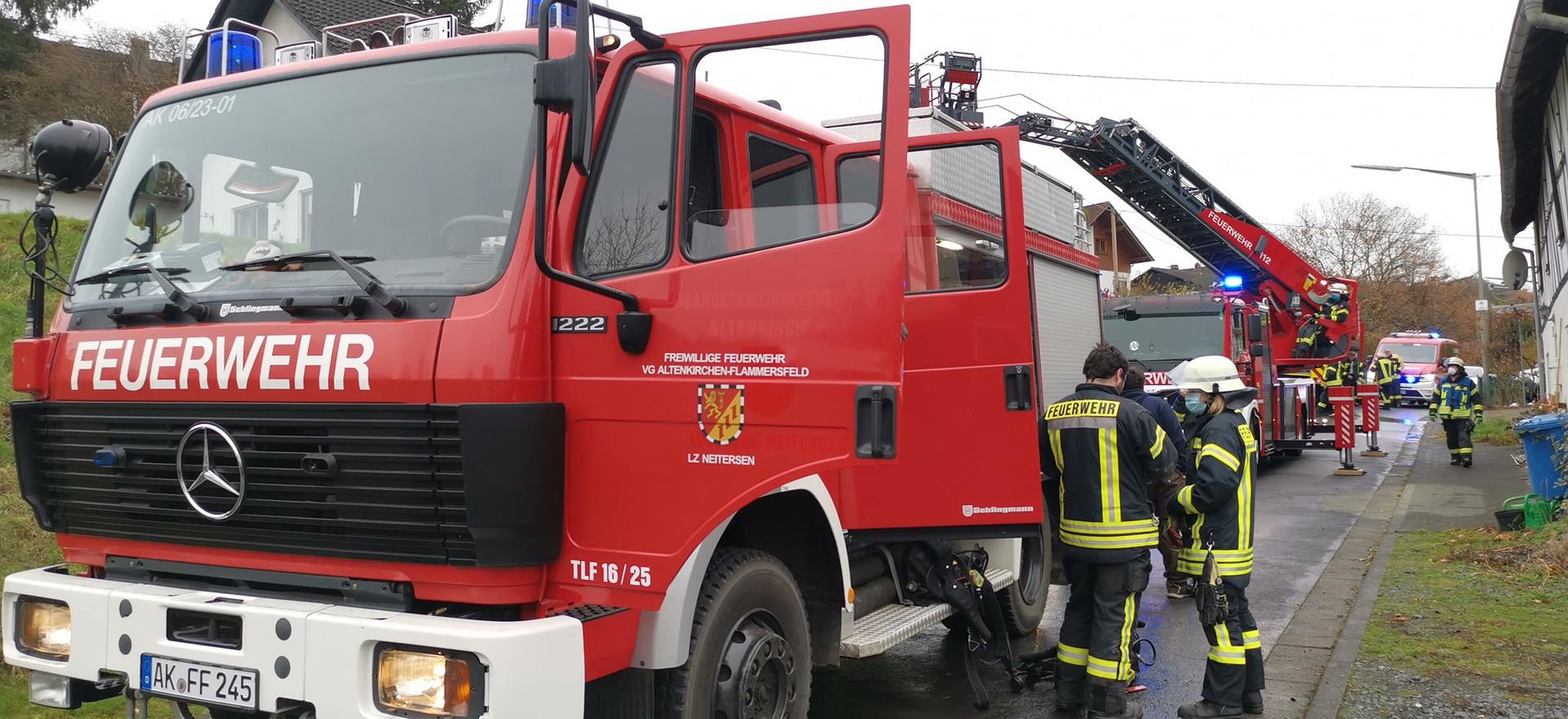 12. Einsatz: Kaminbrand Schöneberg