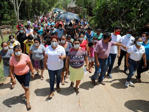 Gestionar Recursos para Rehabilitar más Caminos SacaCosechas: Sofía Alcocer