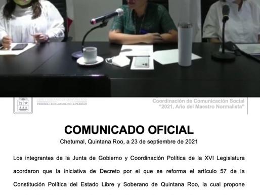 Violenta Jugocopo Proceso Legislativo para Iniciativa de Reelección