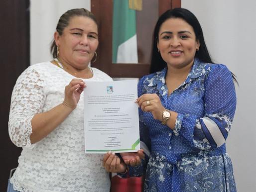Integra Blanca Merari Tziu Equipo de Trabajo de Mujeres y Hombres Comprometidos con Puerto Morelos