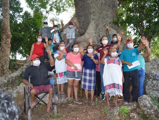 Mary Hernández Visita una de las Comunidades más Pobres y Olvidadas de FCP
