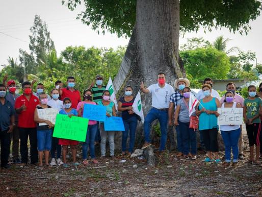 Va por Esquemas de Comercialización que den Ventajas al Campesino: José Alberto Alonso Ovando