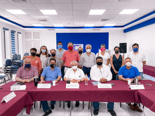 COQCYT y el Consejo Integral del Sargazo de la Rivera Maya Suman Esfuerzos para el Combate del Alga