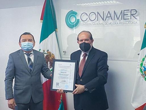 La Comisión Nacional de Mejora Regulatoria, por Segundo Año Consecutivo, Certifica al Poder Judicial