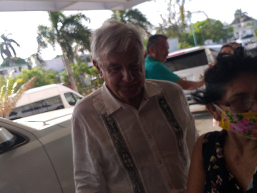 Llega AMLO a Quintana Roo: Encabezará desde Tihosuco Ceremonia para pedir Perdón   al Pueblo Maya