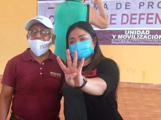 Yensunni Martínez Logra la Reconciliación al Interior de Morena y se Vuelve Opción