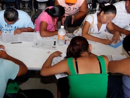 Reactivan Alfabetización y Certificación de Adultos