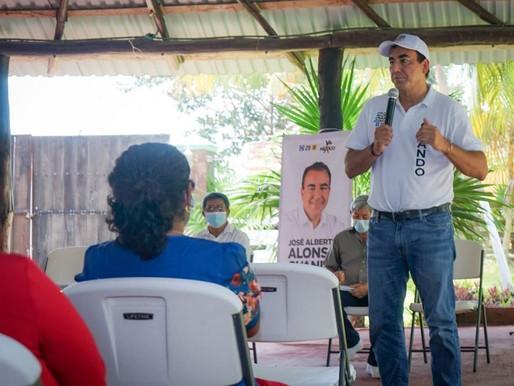 Autoridades tienen que ver Nuevamente por Calderitas: José Alberto Alonso Ovando