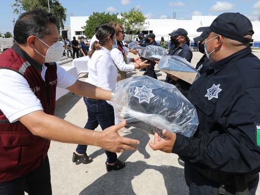 Gobierno de Solidaridad Cuenta con Policía Mejor Equipada