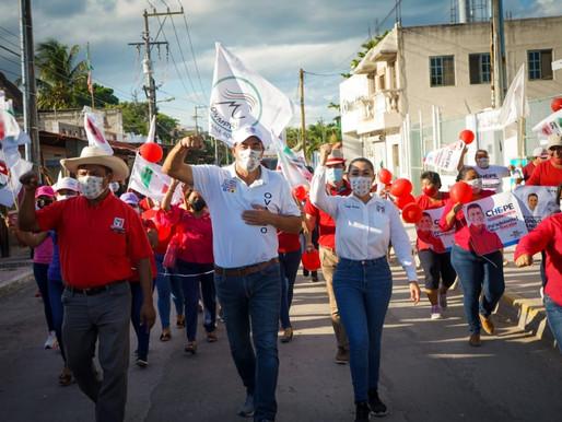 Bacalar da Respaldo a Alonso Ovando y a Chepe Contreras