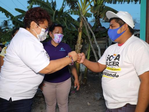 Continuaremos Fortaleciendo al Sector Agropecuario de José Maria Morelos: Sofía Alcocer
