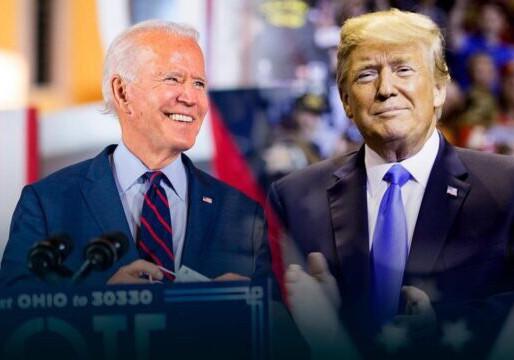 Aventaja Biden a Trump