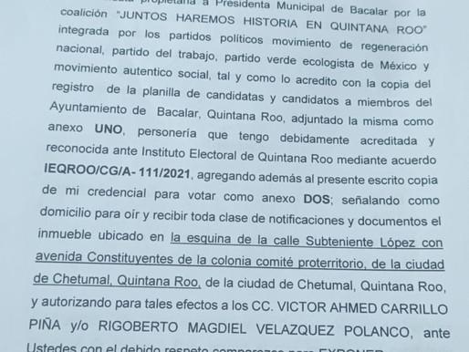 """Utiliza Recursos Públicos """"Chepe"""" y Alexander Zetina, para Agredir a Candidata de la 4Transformación"""