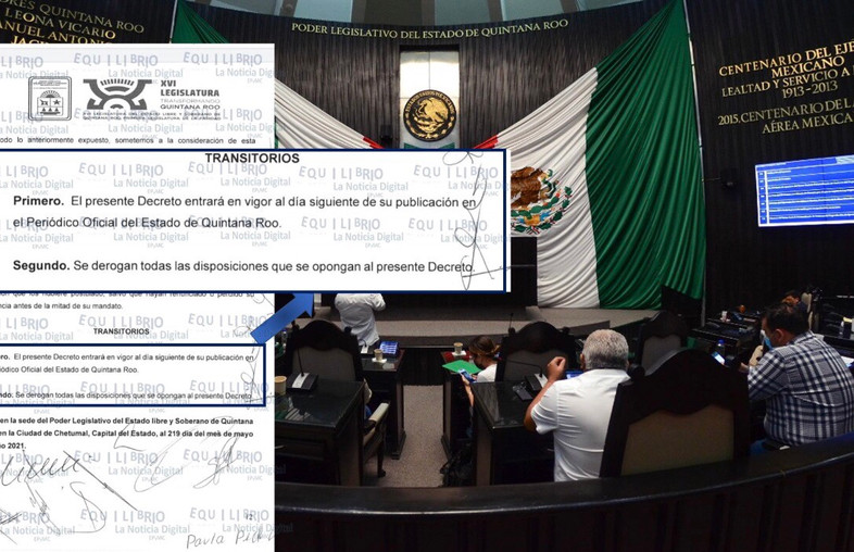 Tramposa Redacción de Artículos Transitorios Permitirá Reelección de Actuales Diputados