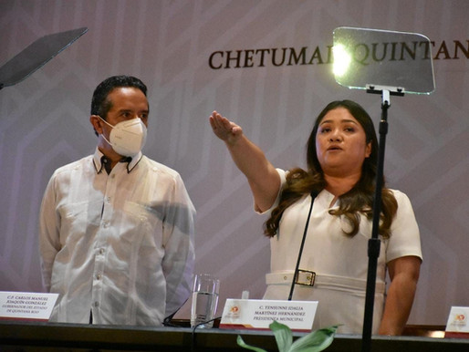 Yensunni Martínez Rinde Protesta a la Presidencia Municipal de OPB