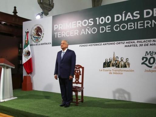 AMLO Recibirá Sanción por Informe de sus 100 Días de Gobierno de 2021, Confirma TEPJF