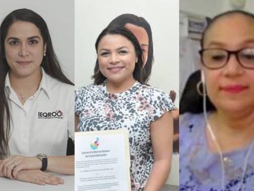 Tres Mujeres al Consejo General del IEQROO