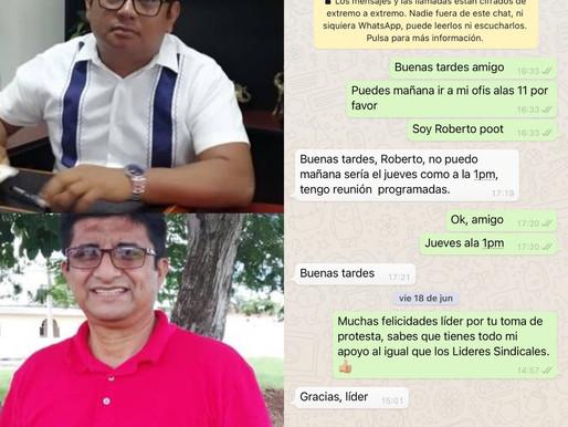 Ofrecen Apoyo de la FSTSGE a Burócratas Sindicalizado del DIF