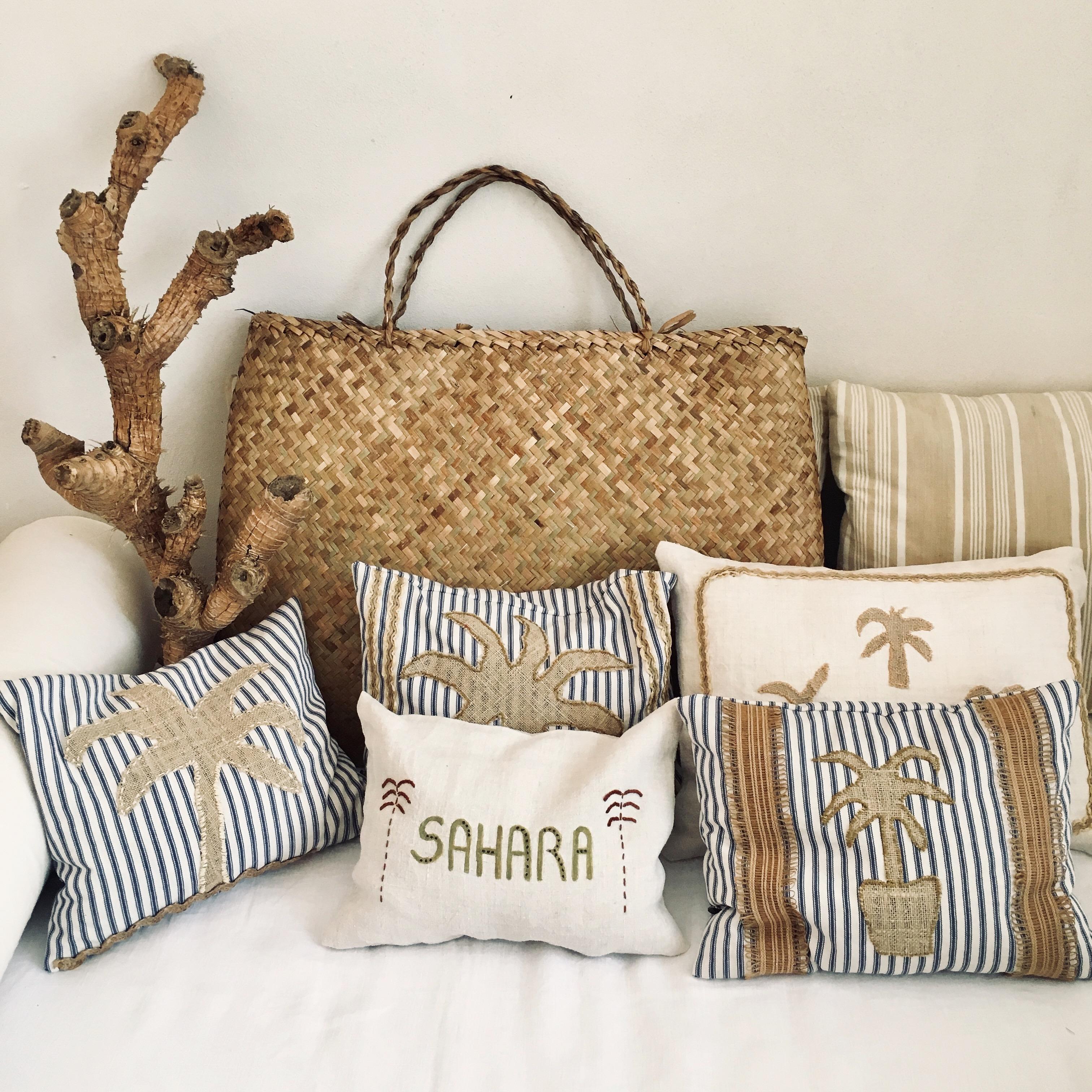 the palmist - poetry cushions