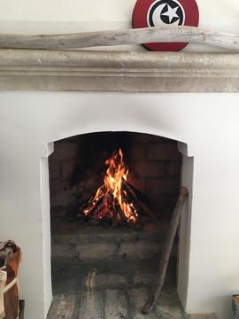 Getting warm in my atelier