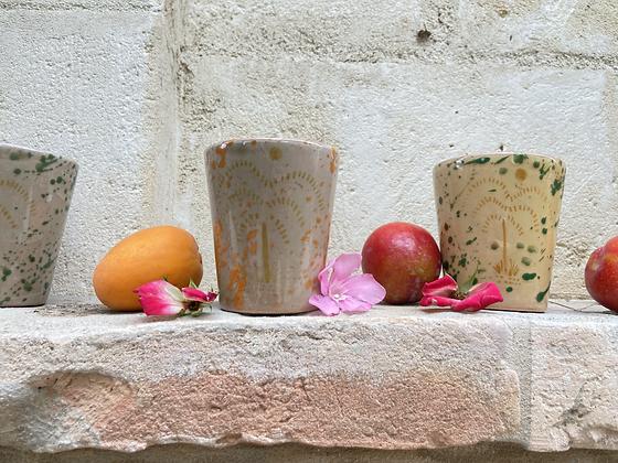 Mandarine Glass Set