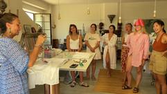 Summer Workshop in the Atelier