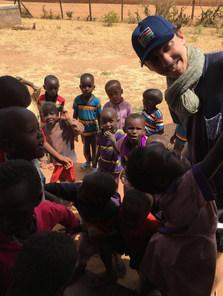 Luigi Playing with kids at Calleri ECDC