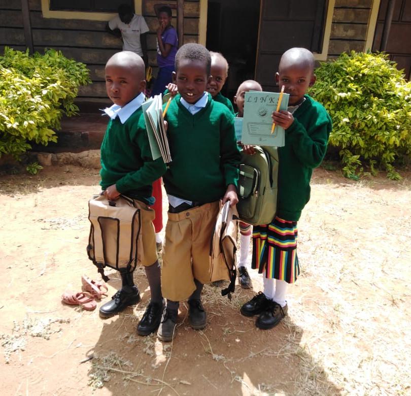Bursary kids at Calleri ECDC