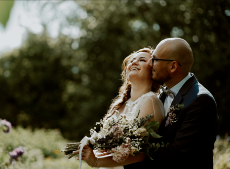 Nihal and Reza - St. Albert Botanical Gardens
