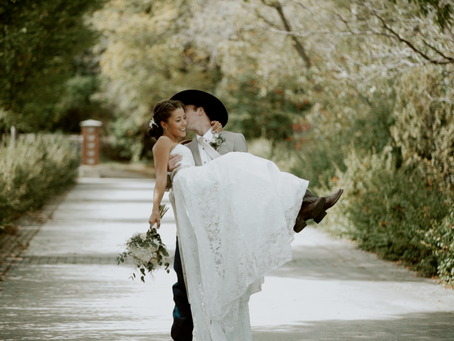 Paulina and Jasper - St. Albert Grain Elevator Park Wedding