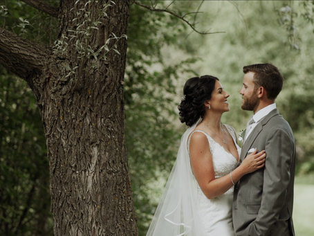 Courtney and Dustin - The Red Tin Barn Wedding