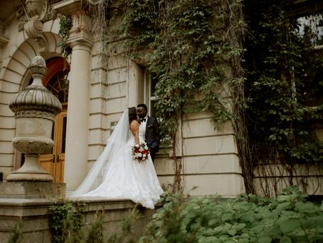 Kim and Cosam - Hope City Church Wedding