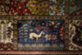 tapis, entrée du bureau d'un chef de cour, palais de justice de Grenoble, photographie Nicolas Pianfetti