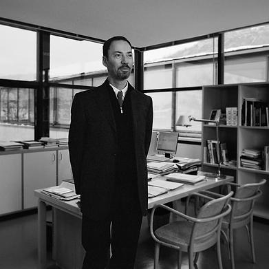 portrait Guy Tosatto directeur musee Grenoble photographie Nicolas Pianfetti