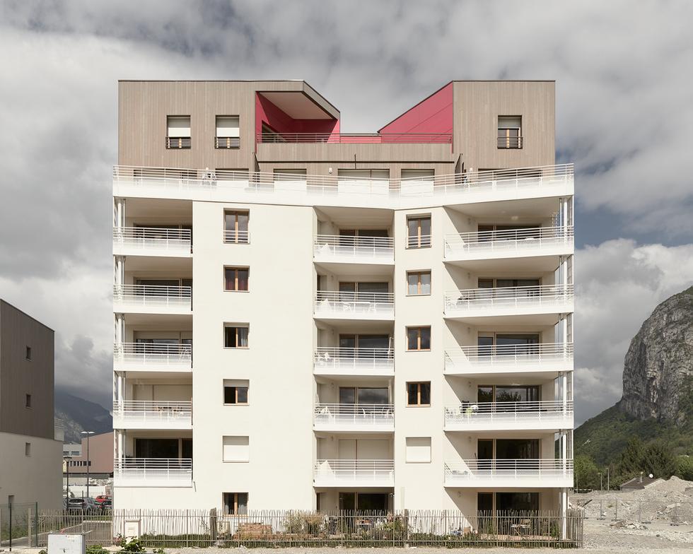 architecture chantier Isere Habitat photographie Nicolas Pianfetti