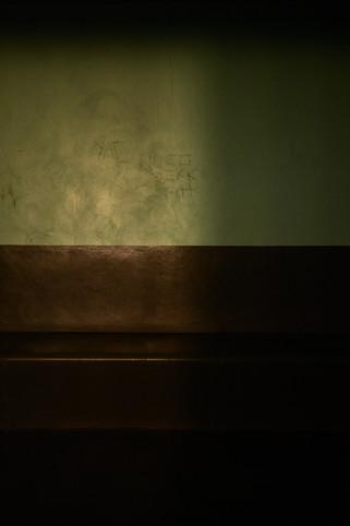 cellule commune, geôles, palais de justice de Grenoble, photographie Nicolas Pianfetti