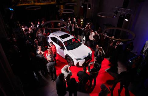 Lexus Grenoble UX art experience Jean Lain événementiel photographie Nicolas Pianfetti