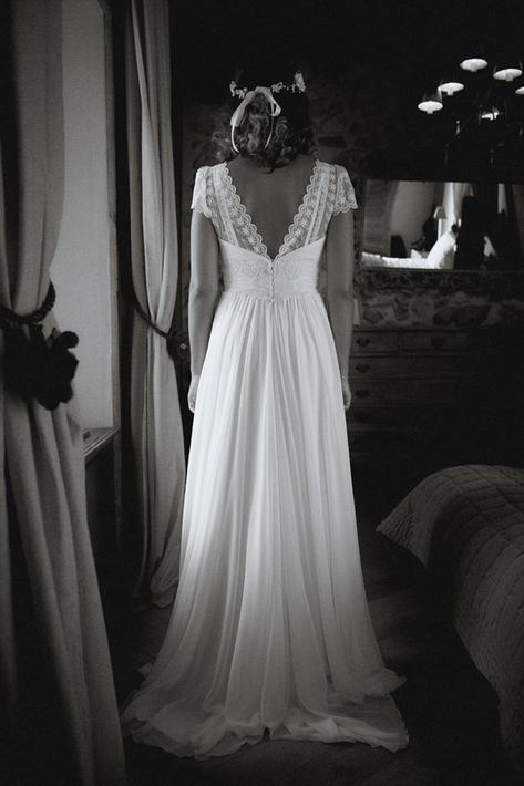 mariage robe photographie Nicolas Pianfetti