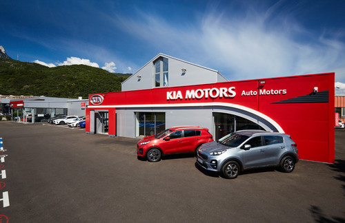 Kia Automotors Seyssinet photographie Nicolas Pianfetti