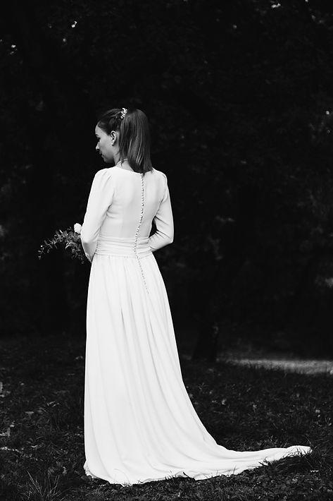 robe mariage Sophie photographie Nicolas Pianfetti