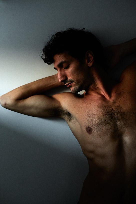 Gaetano Vaccaro, danseur, compagnie Jean-Claude Gallotta, photo Nicolas Pianfetti