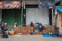 Street market, Tual, Indonesia, 2019.