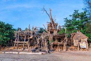 Hippie-bar, Koh Phayam, Thaïlande, 2020.