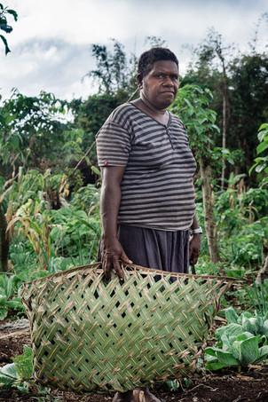 Bernadette, île de Santo, Vanuatu, 2019.