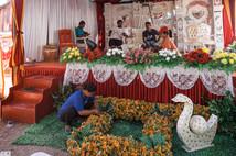Wedding preparation, Tual, Indonesia, 2019.
